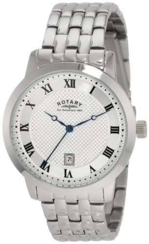 Rotary Men's Round Steel Bracelet Watch GB42825/01
