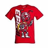 Marc Marquez(マルク マルケス)Tシャツ BIGコミック レッド サイズXL 2016正規輸入品 1633072-XL