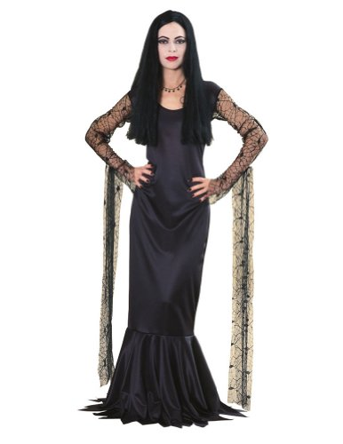 Morticia Addams Family Adult Costume Lg Halloween Costume