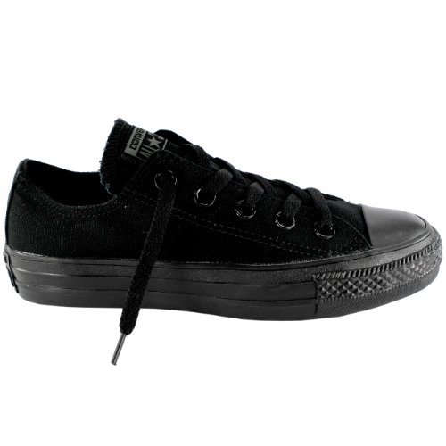 Converse Unisex Chuck Taylor All Star Ox Low Top Sneakers Black Monochrome 10.5 B(M) US / 7.5 D(M) US (Converse Work Shoes compare prices)