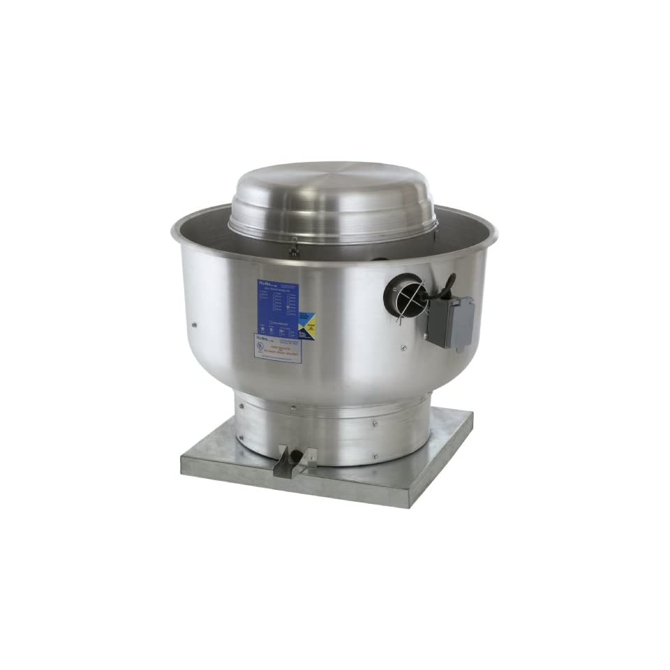Direct Drive Centrifugal Exhaust Fans : Floaire du h restaurant fan high speed direct drive