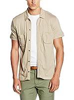 Fyord Camisa Hombre (Piedra)