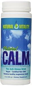 Natural Vitality Natural Calm, 8 Ounce