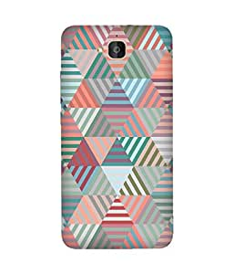 Abstract Pattern Huawei Honour 6 Plus Case