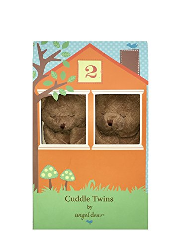Angel-Dear-Brown-Bear-Cuddle-Twin-Set