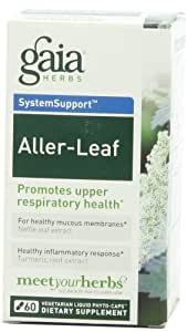 Gaia Herbs Aller-Leaf, 60 Liquid Phyto-Capsules