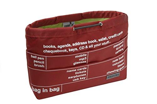 Bag In Bag / Grand modèle - Pochette Coaban (Cerise)