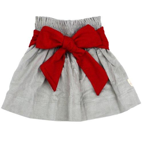 Best Persnickety Hattie Skirt -Gray (8 years)