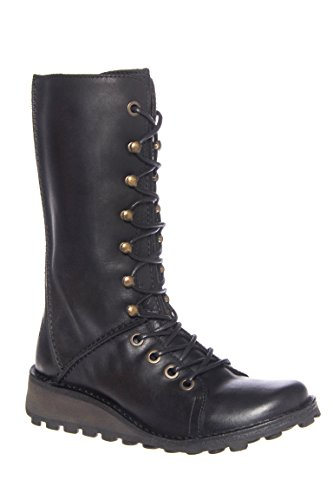 Meik Wedge Mid Calf Boot
