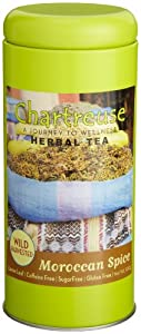 Chartreuse Loose Leaf Tea Moroccan Spice 353-ounce Tins Pack Of 2 by Chartreuse Organic Tea