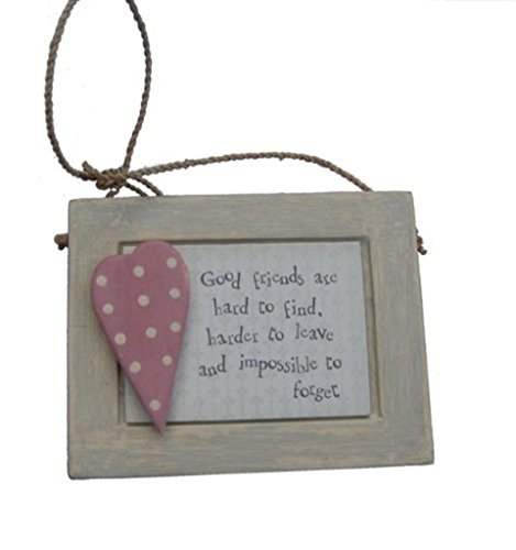 East of India Good Friend Gift Plaque by East of India