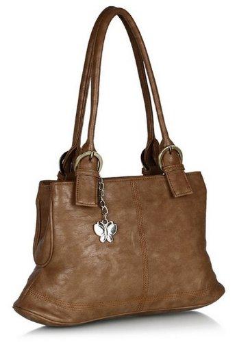 Butterflies Handbag (Antique)(BNS 0242)