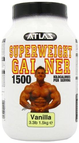 Nutrisport Atlas Super Weight Gainer Vanilla Powder 1.5Kg