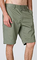 RVCA Men\'s The Week-End Short, Fatigue, 31