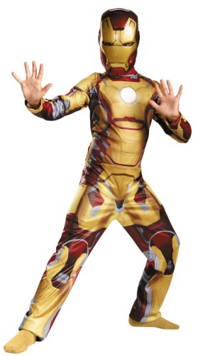 Iron Man Mark 42 Child Costume Classic Kids Boys Costume
