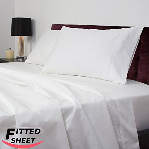 White Bedding King 2622 front