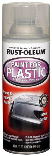 rust oleum automotive 254855 11 ounce paint for plastic spray. Black Bedroom Furniture Sets. Home Design Ideas