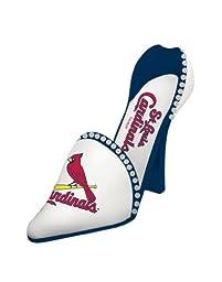 St. Louis Cardinals Decorative Wine Bottle Holder - Shoe--(Package of 2)