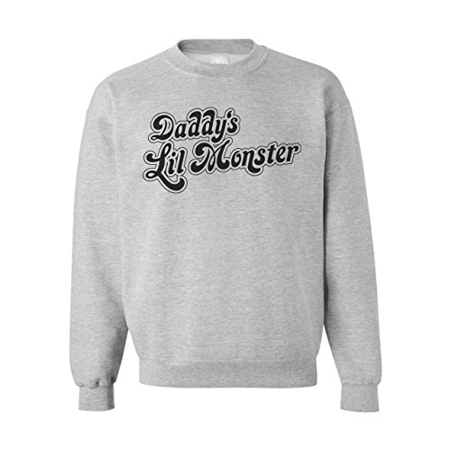 Daddy's Lil Monster Suicide Squad Small Unisex Sweater