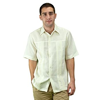 Wedding shirt for men, ivory.