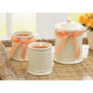 Better Homes and Gardens Pumpkin Pie Scented Candles -Set of 3