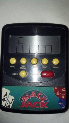 Vintage COMPUTER BLACK JACK Electronic Handheld Game - 1