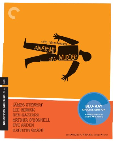 Cover art for  Anatomy of a Murder (The Criterion Collection) [Blu-ray]