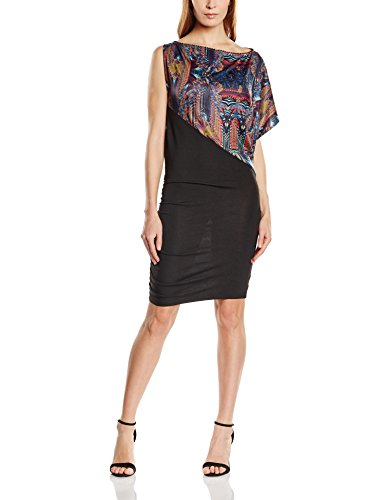 CUSTO BARCELONA - Habre Tickchic, Vestito da donna, multicolore (tickchic), M