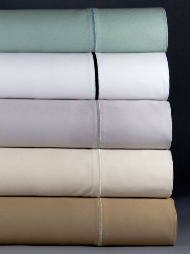 buy magnolia organics estate collection sheet set queen white