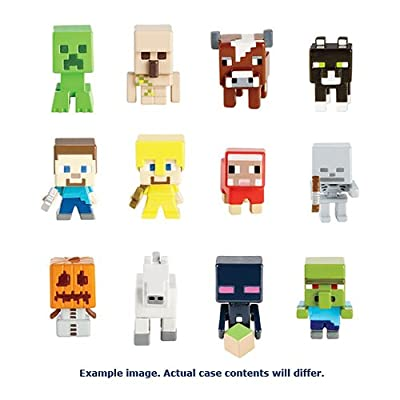 Minecraft Mini Vinyl Toy Figure Set Of 12 from MINECRAFT