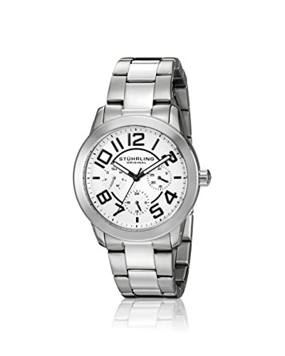 Stuhrling Women's 807.01 Regal MF Silver/White 316L Surgical Grade Stainless Steel Watch
