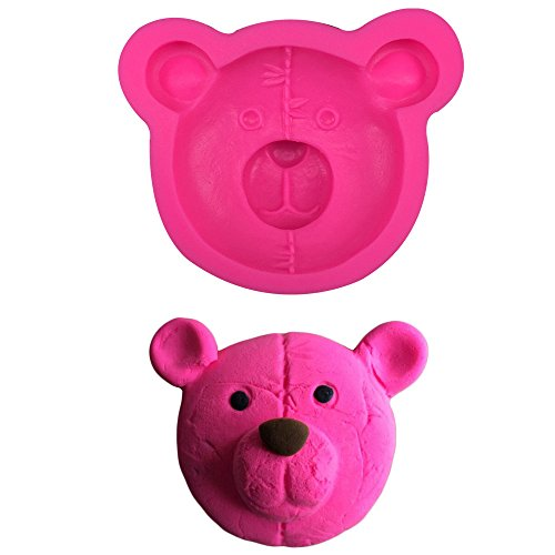 HT BAKEWARE | Teddy Bear Head Silicone Mold (Teddy Bear Theme compare prices)