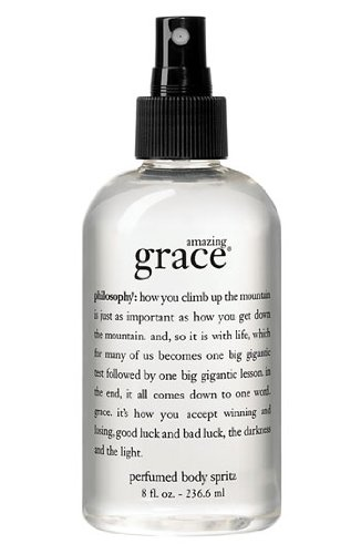 amazing grace perfumed body spritz 8.0 oz for Women