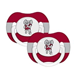 Buy NCAA Alabama Crimson Tide 2 Pack Pacifier by BaFanatic