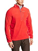 Craghoppers Forro Polar Crathorne Pro Stretch Half Zip Micro Fleece (Rojo)