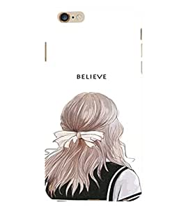 EPICCASE Believe In yourself Back Case Cover For Apple iPhone 6/6s (Designer Case)
