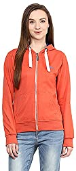 OKANE Women's Long Sleeve Sweatshirt (51751, Orange, S)