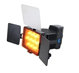 SUPON LED-1030A Video DV Camcorder Light With Built- adjustable Color Temperature Lamp
