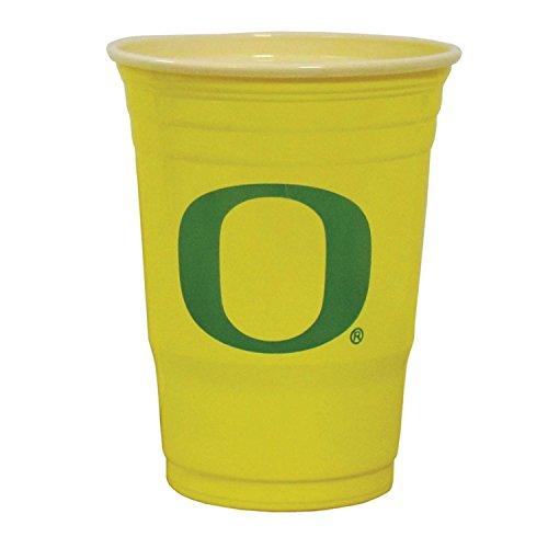 Oregon Ducks Plastic Game Day Cups