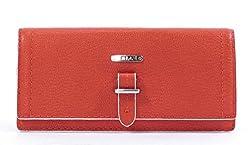 LAUREN Ralph Lauren Gladstone Skinny Envelope Wallet,Poppy