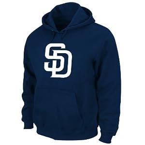 MLB Mens San Diego Padres SuedeTek Fleece by Majestic