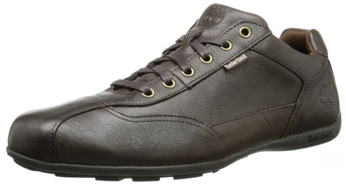 Timberland Men's Eklowpro Ox Dk Brown Lace-Up Flats