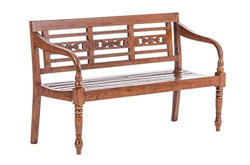 CLP-2er-3er-Holz-Bank-Mahagoni-Holz-Breite-whlbar-100-150-cm-bis-8-Farben-whlbar-rustic-150-x-57-x-90-cm
