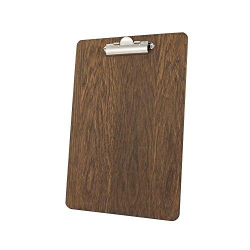 portapapeles-a4-de-madera-con-clip-acabado-en-roble-oscuro-240-x-340-mm