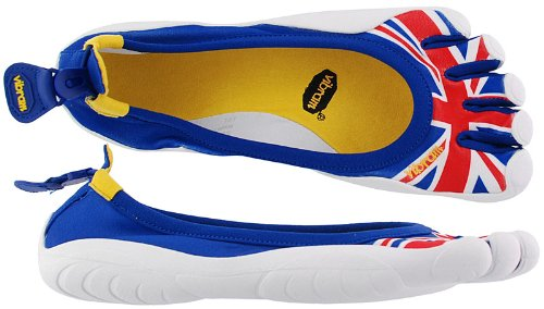 Vibram Five Fingers Classic Flag Mens Shoes In Red / White / Blue M10634FB