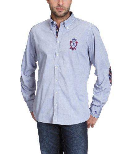 Otto Kern Men's 50018 / 13028 Casual Shirt Blue (300Navy) 41/42
