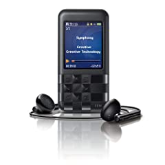 Creative ZEN Mozaic EZ 100 MP3-Player 8 GB schwarz