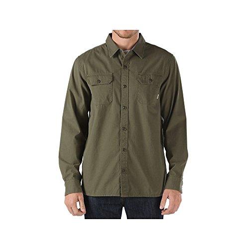 Vans -  Camicia Casual  - Casual - Uomo verde M
