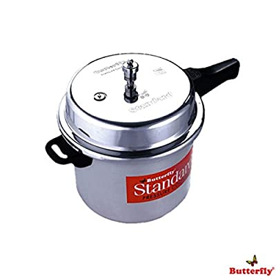 Butterfly Outer Lid Pressure Cooker Curve Stainless Steel With Atb 3 L