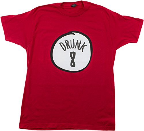Drunk 8 | Funny Drinking Team, Group Halloween Costume Unisex T-shirt